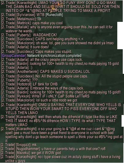 SLE - drama text argument